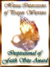 Inspirational of Faith Site Award