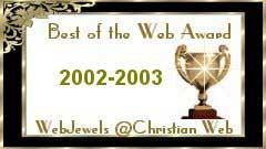 Best of the Web Award (Web site address now invalid)