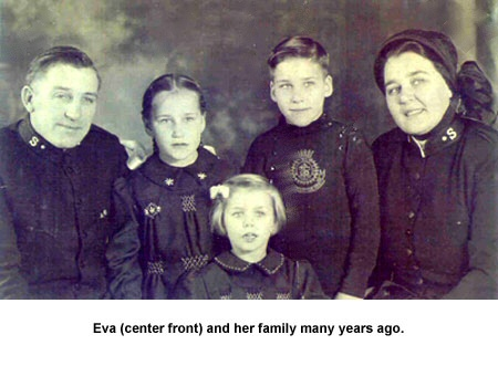 Eva and her family