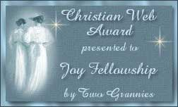 Christian Web Award - Two Grannies (link to www.twogrannies.com no longer valid)